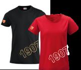 T-shirt 1907 Klubblogo